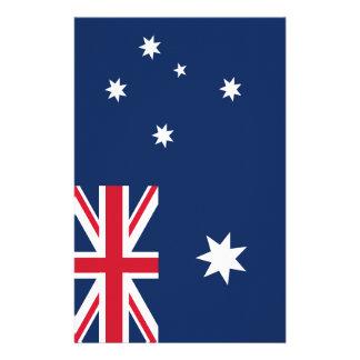 Australian flag stationery