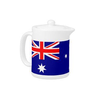 Australian Flag Teapot