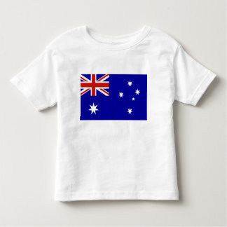 Australian flag toddler t-shirt
