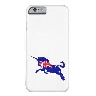 Australian Flag - Unicorn Barely There iPhone 6 Case
