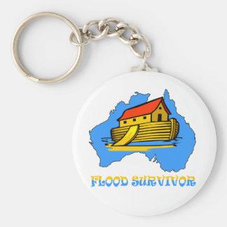 australian flood survivor keychain