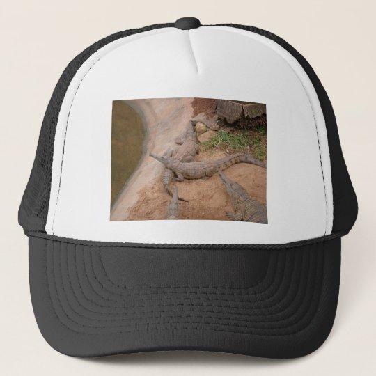Australian Freshwater Crocodile Trucker Hat