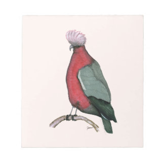 australian galah cockatoo,tony fernandes notepad