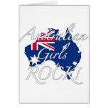 Australian Girls Rock! Greeting Cards