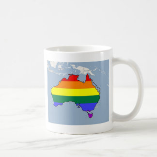 Australian GLBT Pride Coffee Mug