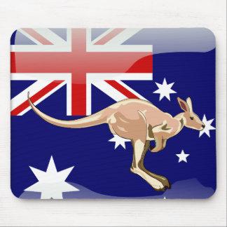 Australian glossy flag mouse pad