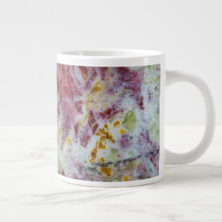 Australian Green Opalite Slab Giant Coffee Mug