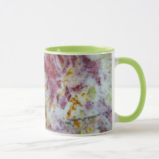 Australian Green Opalite Slab Mug