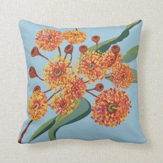 Australian gum blossoms pillow