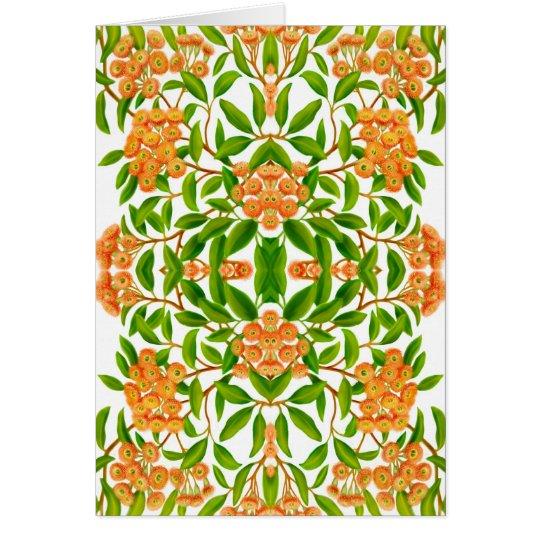 Australian Gum Tree Design Card