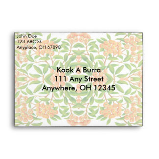 Australian Gum Tree Floral Envelope