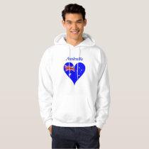 Australian heart hoodie