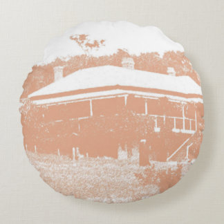 Australian Homestead double-sided Round Pillow