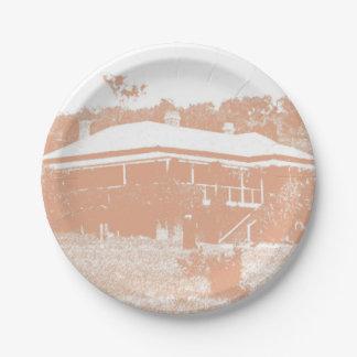 Australian Homestead Paper Plate