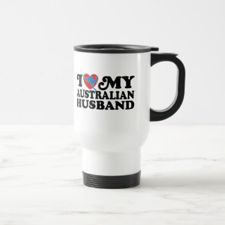 Australian Husband Travel Mug
