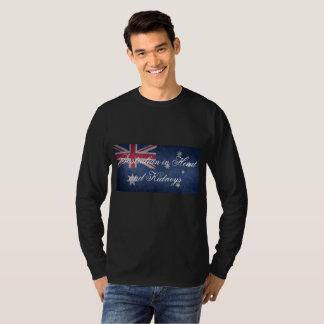 Australian in Heart and Kidneys, Australia, Flag T-shirt