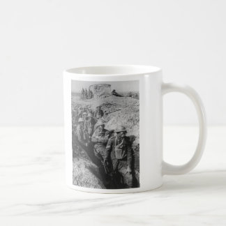 Australian Infantry Wearing Small Box Respirators Classic White Coffee Mug