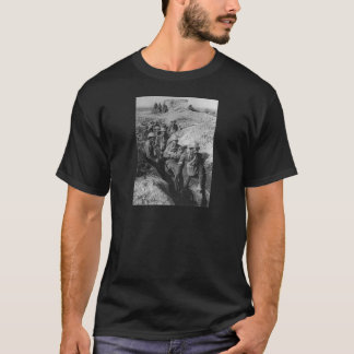 Australian Infantry Wearing Small Box Respirators T-Shirt