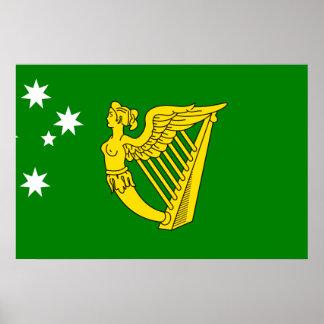 Australian Irish Heritage, Australia Poster