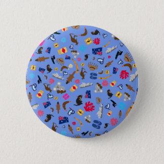 Australian items, what is Austalia famous for Pinback Button