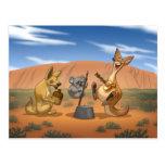 Australian Jug Band Postcard