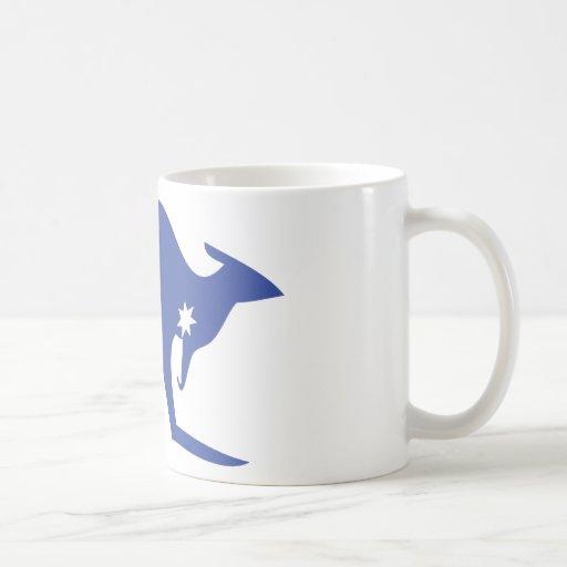 australian kangaroo mugs