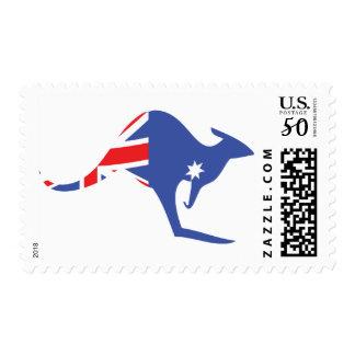 australian kangaroo postage
