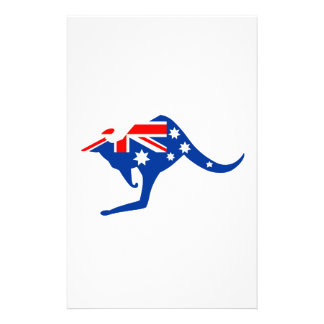 Australian Kangaroo Stationery