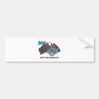 Australian Keep the Monarchy Logo Bumper Sticker
