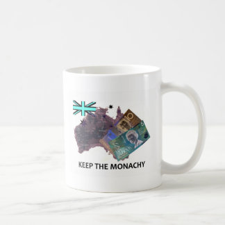 Australian Keep the Monarchy Logo Coffee Mug