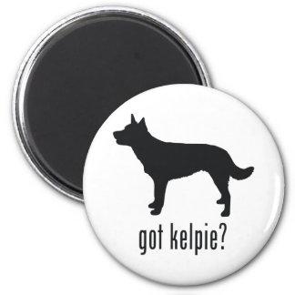 Australian Kelpie 2 Inch Round Magnet