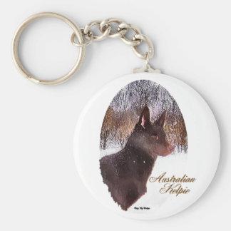 Australian Kelpie Christmas Gifts Keychains