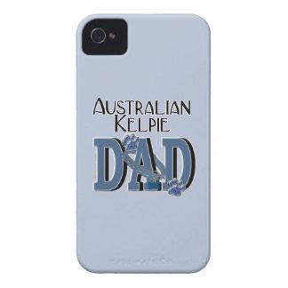 Australian Kelpie DAD iPhone 4 Case-Mate Case