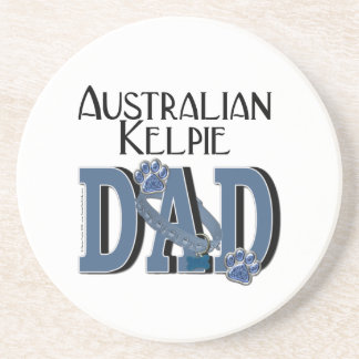 Australian Kelpie DAD Coaster