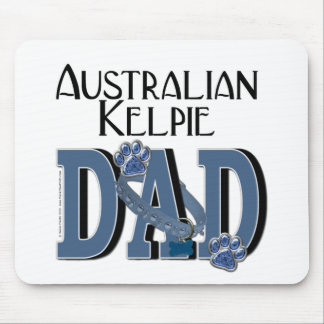 Australian Kelpie DAD Mouse Pad