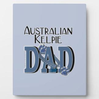 Australian Kelpie DAD Photo Plaque