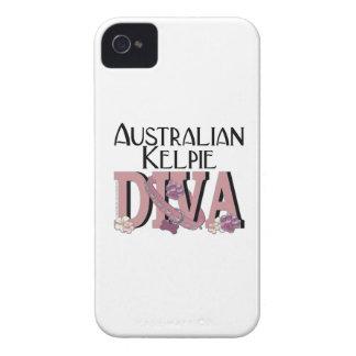 Australian Kelpie DIVA iPhone 4 Case-Mate Cases