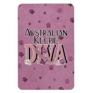 Australian Kelpie DIVA Rectangular Magnet