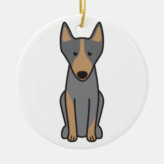 Australian Kelpie Dog Cartoon Ceramic Ornament