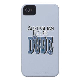 Australian Kelpie DUDE iPhone 4 Case-Mate Case