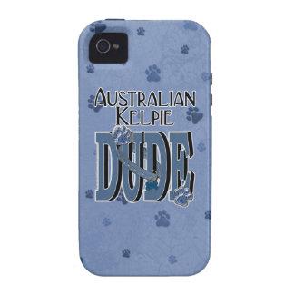 Australian Kelpie DUDE Vibe iPhone 4 Covers