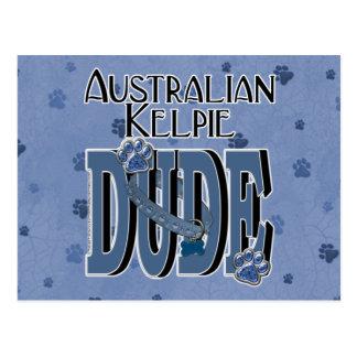 Australian Kelpie DUDE Postcard