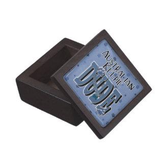 Australian Kelpie DUDE Premium Trinket Boxes