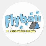 Australian Kelpie Flyball Sticker