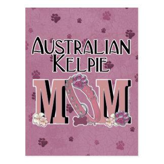 Australian Kelpie MOM Postcard