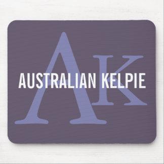 Australian Kelpie Monogram Mouse Pad