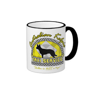 Australian Kelpie Taxi Service Coffee Mug
