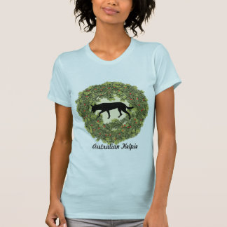 Australian Kelpie Wreath T-Shirt