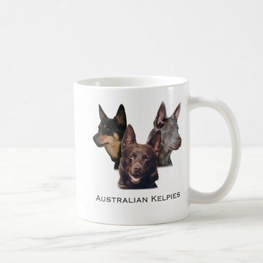 Australian Kelpies Trio Mug