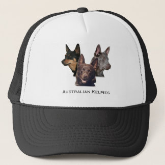 Australian kelpies Trio Trucker Hat
